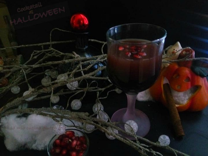 Cocktail di Halloween al melograno