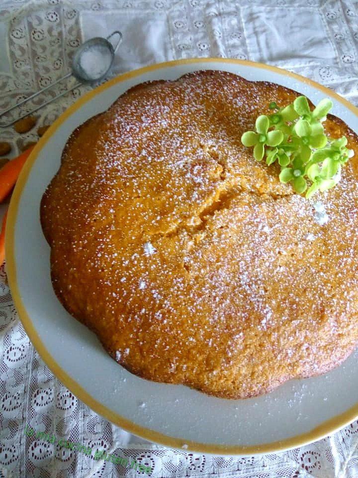 torta di carote senza glutine con farina di mandorle