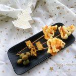 alberelli di pasta sfoglia senza glutine con cheddar