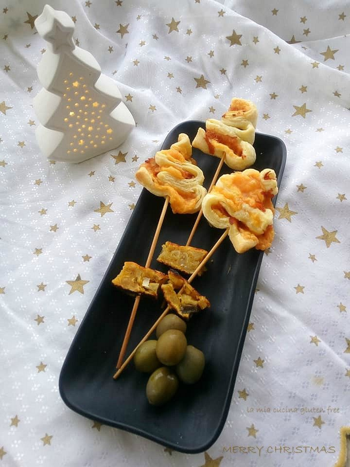 alberelli di pasta sfoglia senza glutine
