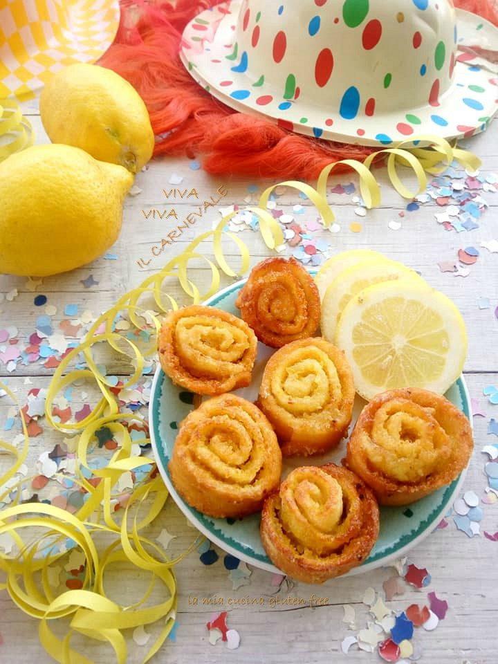 limoncini di carnevale senza glutine