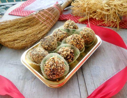 Praline di panettone con croccante