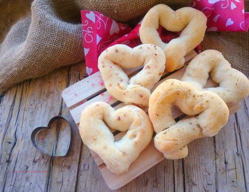 Cuori di pane senza glutine
