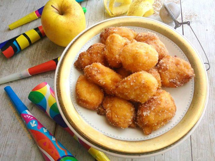 frittelle di mele senza glutine di carnevale
