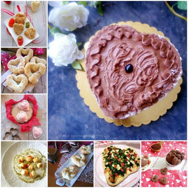 Menù di San Valentino senza glutine