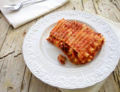 Lasagna napoletana senza glutine