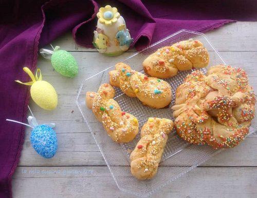 Taralli dolci di Pasqua senza glutine