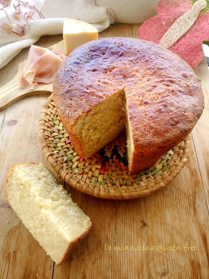 Torta di Pasqua al formaggio senza glutine