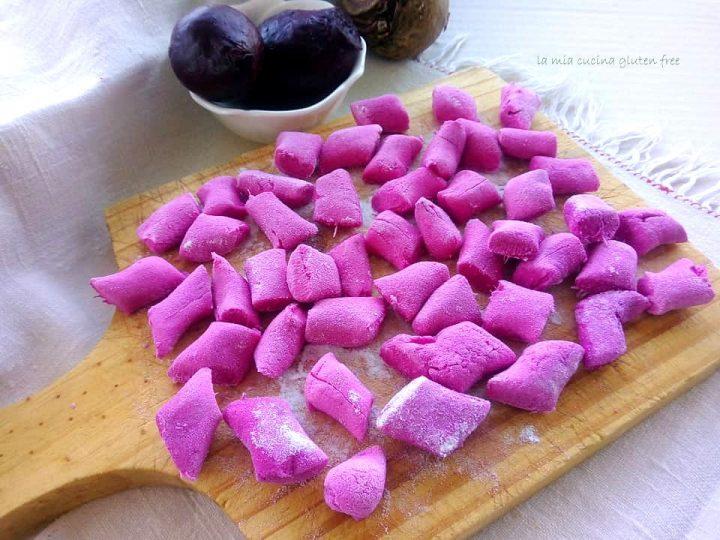 pasta fresca alla rapa rossa senza glutine