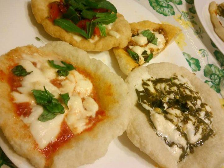 pizza fritta senza glutine o montanare gluten free