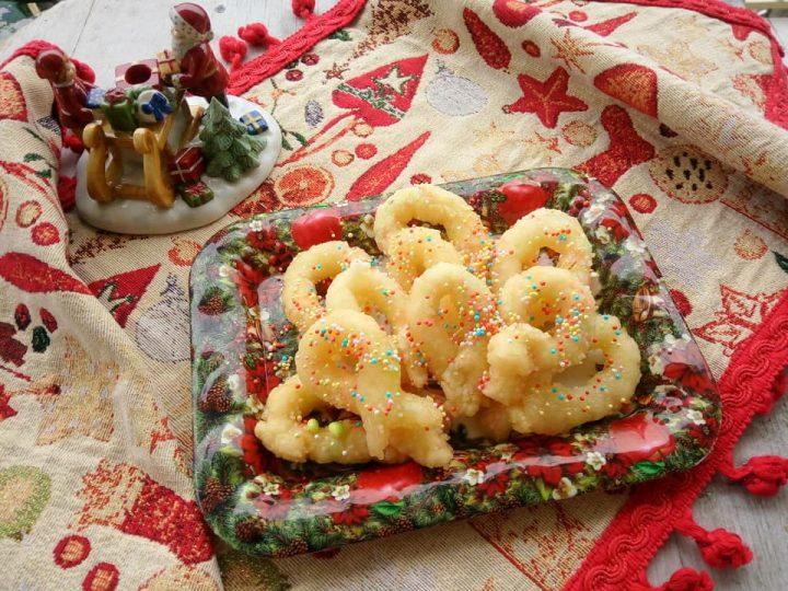 Zeppole di Natale bollite senza glutine