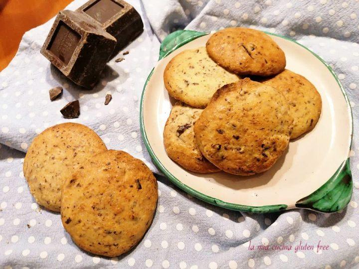 cookies senza glutine americani con cioccolato