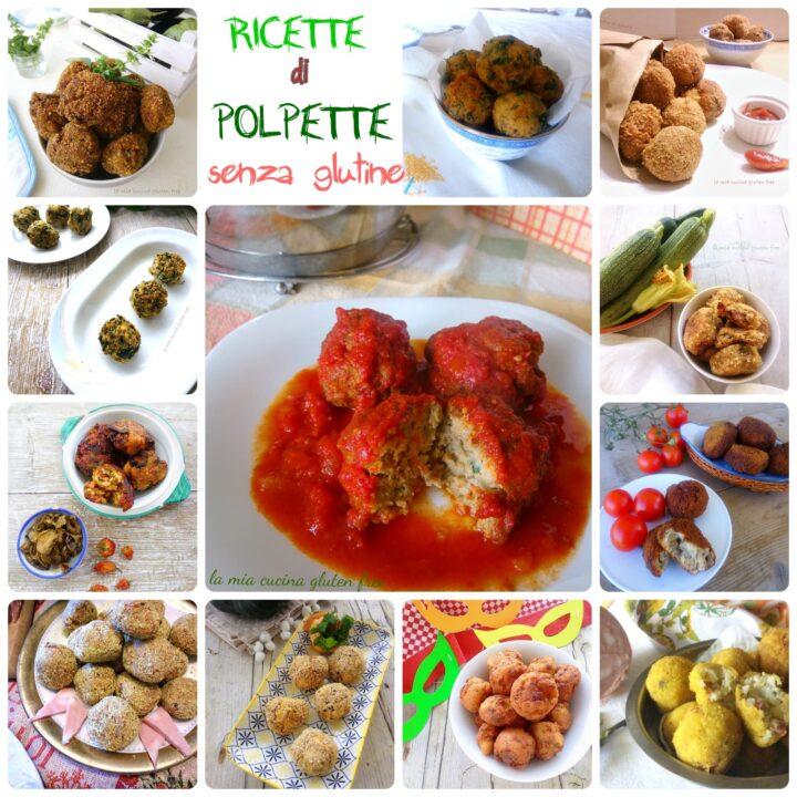 raccolta di ricette di polpette senza glutine
