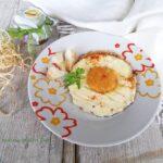 fake eggs o uova finte al tegamino