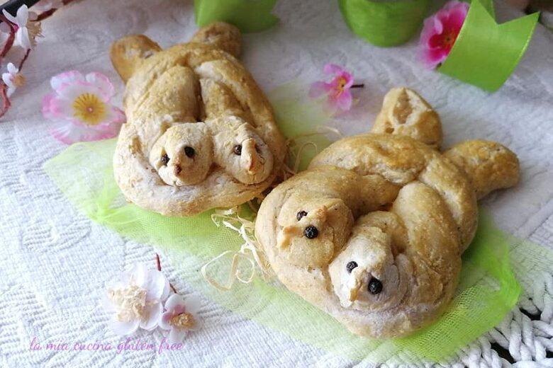 Colombine di pane senza glutine