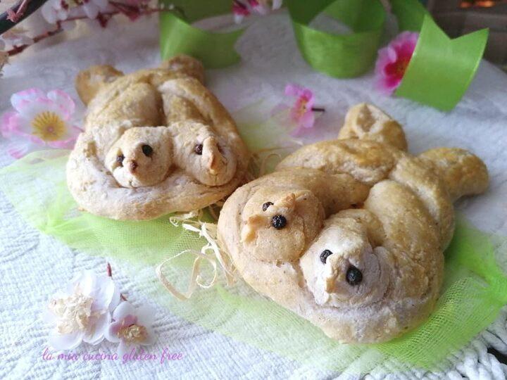 colombine di pane senza glutine ricetta di pasqua