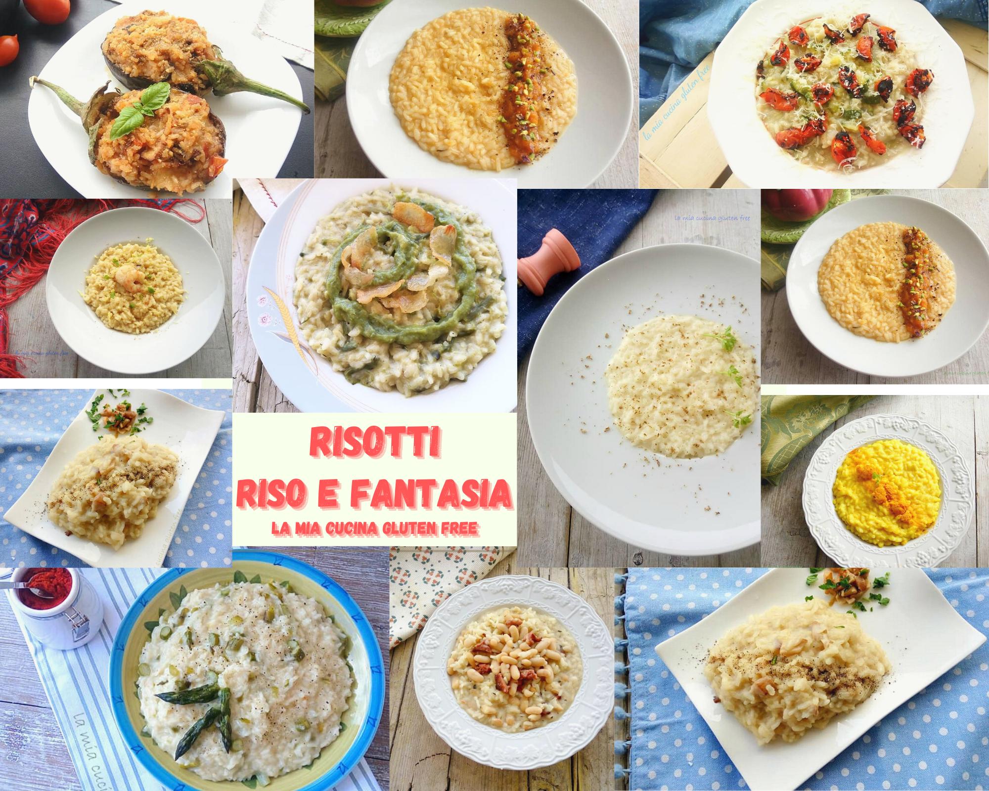 Ricette di risotti riso e fantasia