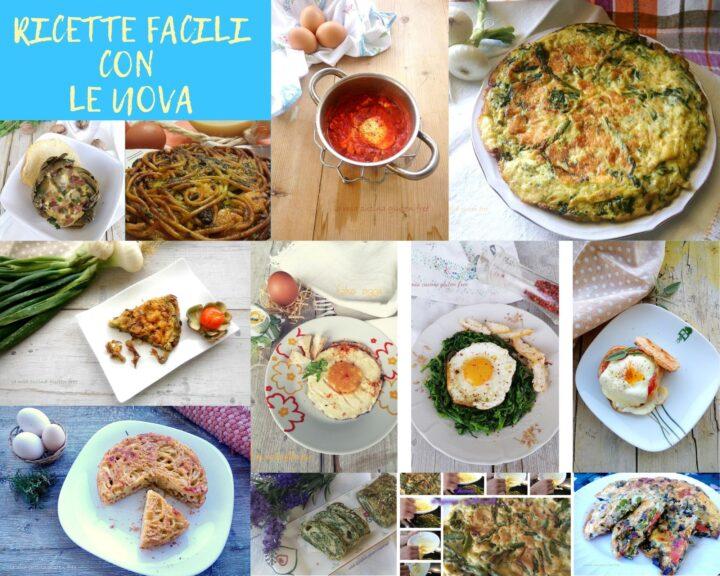 ricette facili con le uova