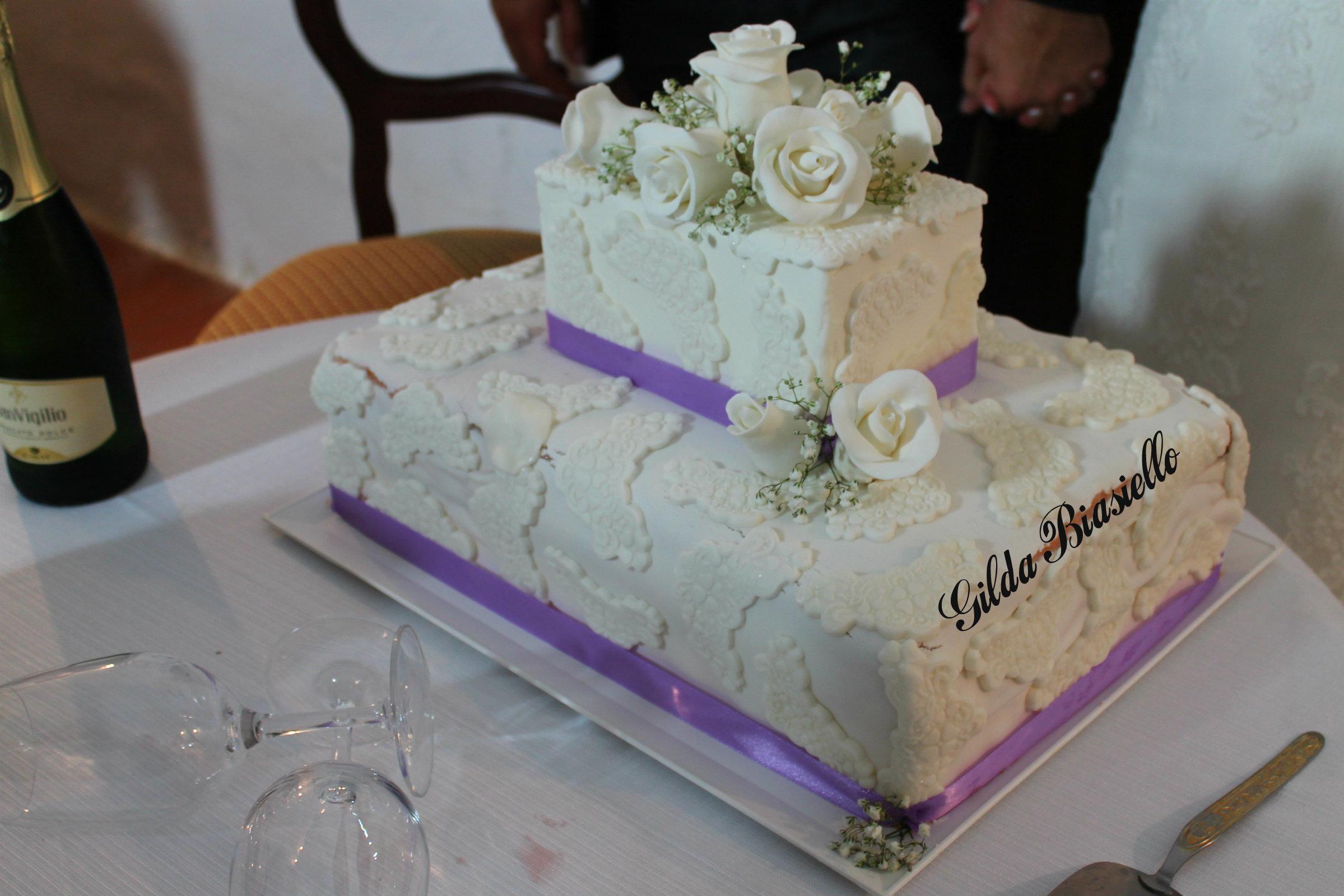 Torta nikon in pasta di zucchero donnepasticcione for Piani di costruzione di due piani per uffici