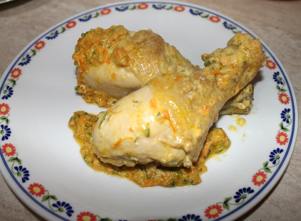 Pollo saporito con verdure alla zia Annina 1