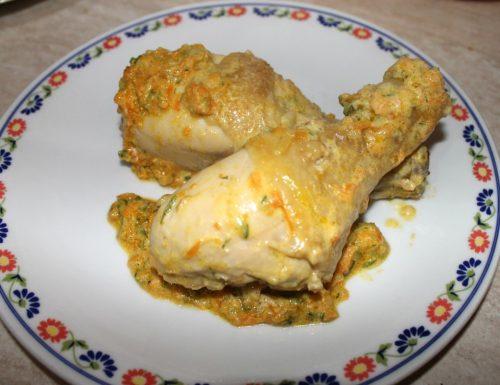Pollo saporito con verdure alla zia Annina