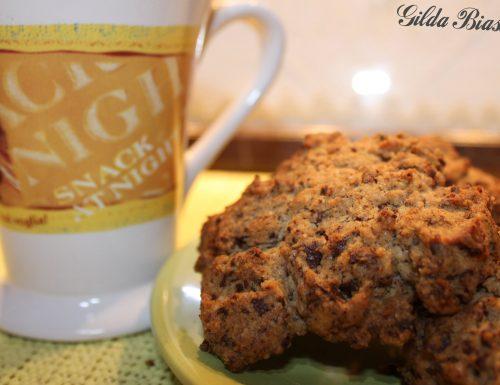 Biscotti allo zenzero e cioccolato fondente