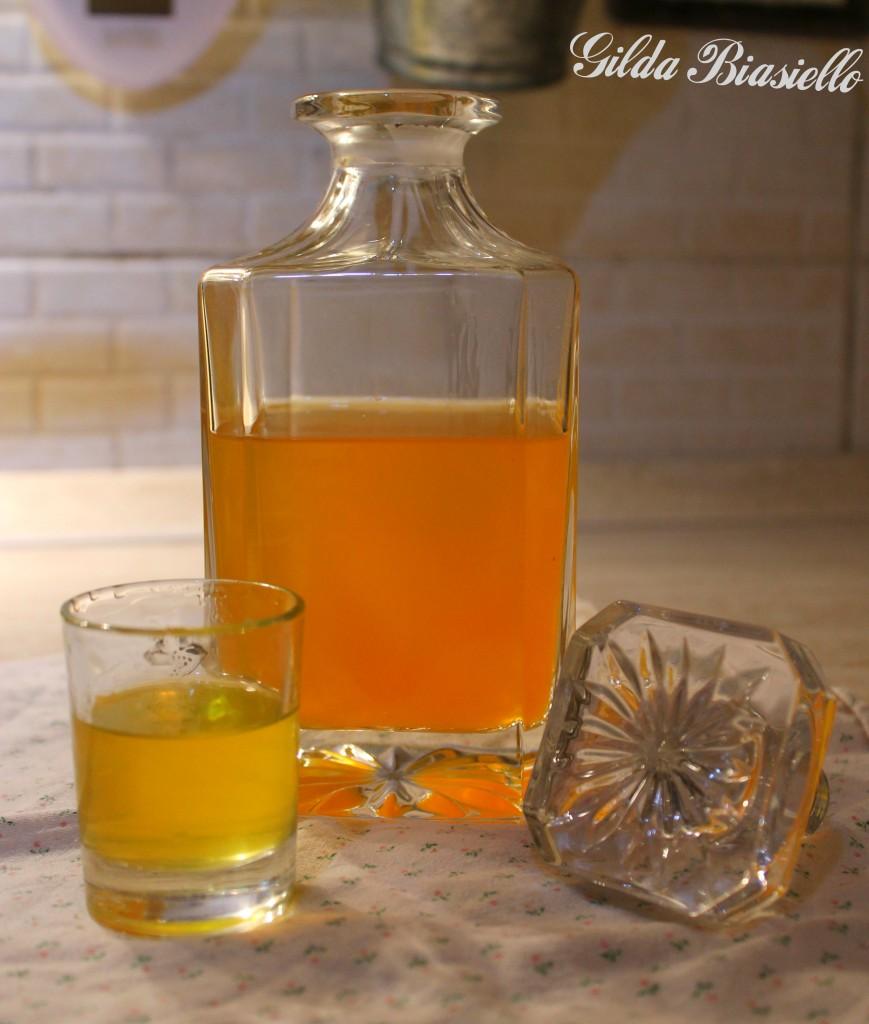 L'arancello - ricetta liquore all'arancia fatto in casa