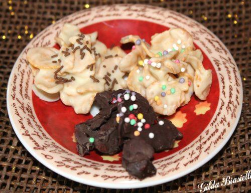 Cioccolatini ai fiocchi di cereali