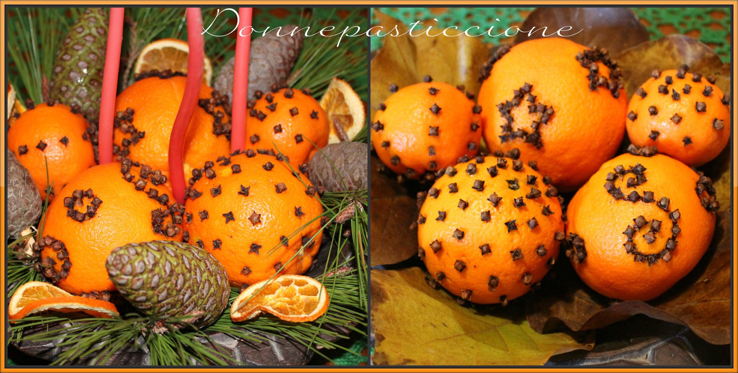 Arance decorate con i chiodi di garofano donnepasticcione - Fachiro letto di chiodi ...