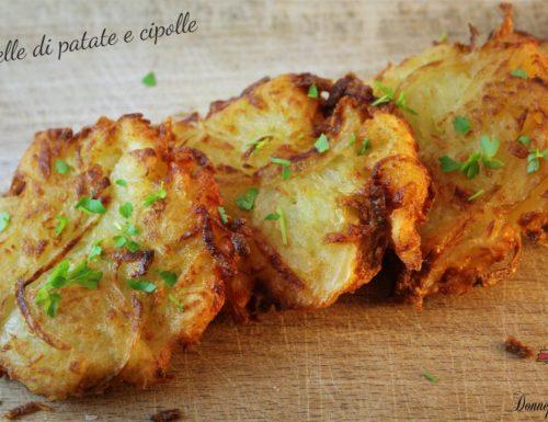 Frittelle di patate e cipolle