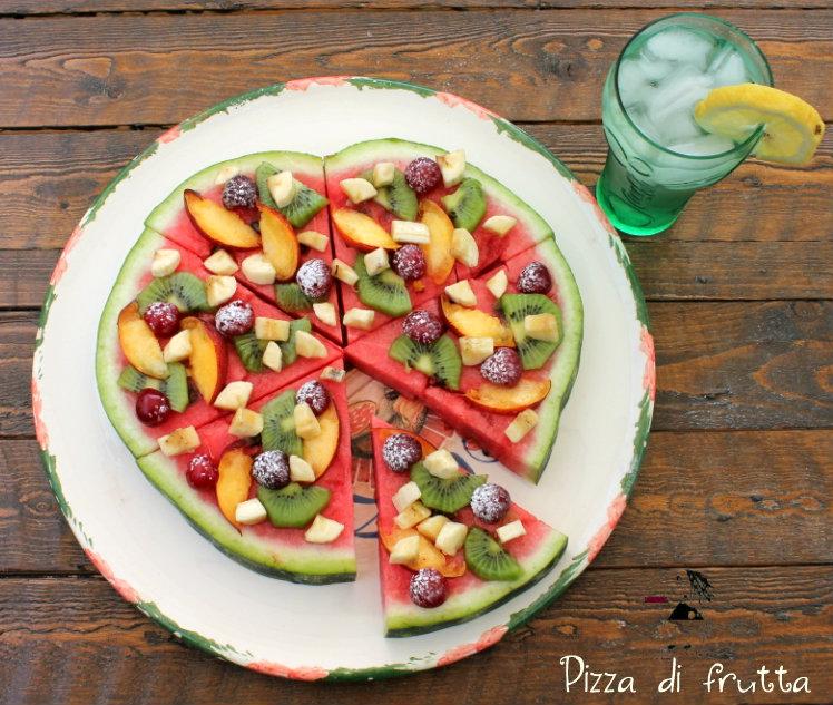 Pizza di frutta 4