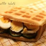 waffle salato farcito