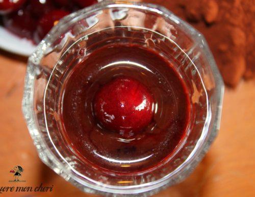 Liquore al sapore di Mon Cheri