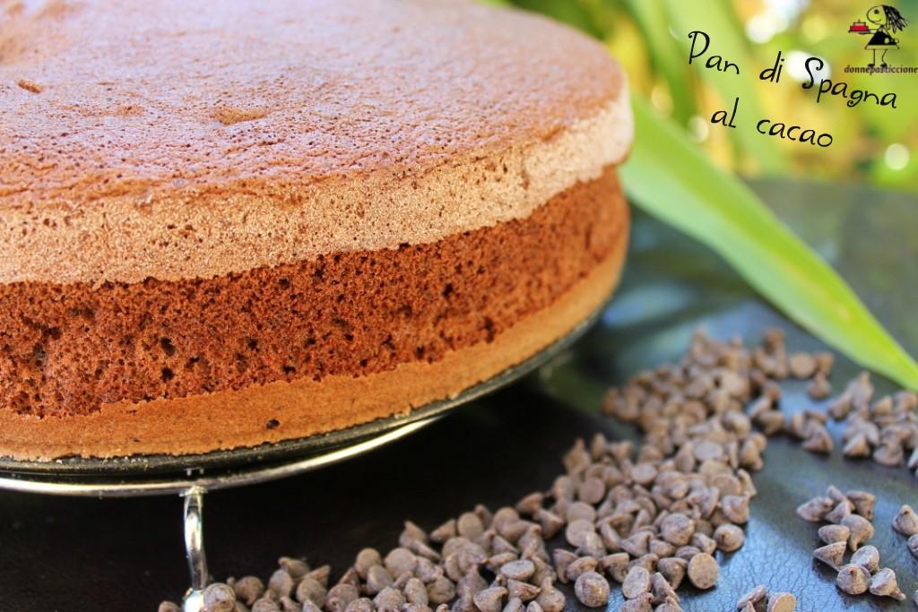 Pan di Spagna al cacao | donnepasticcione
