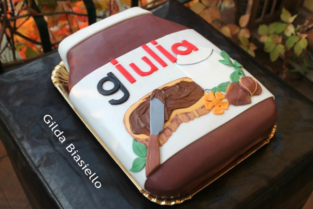 Torta barattolo di Nutella