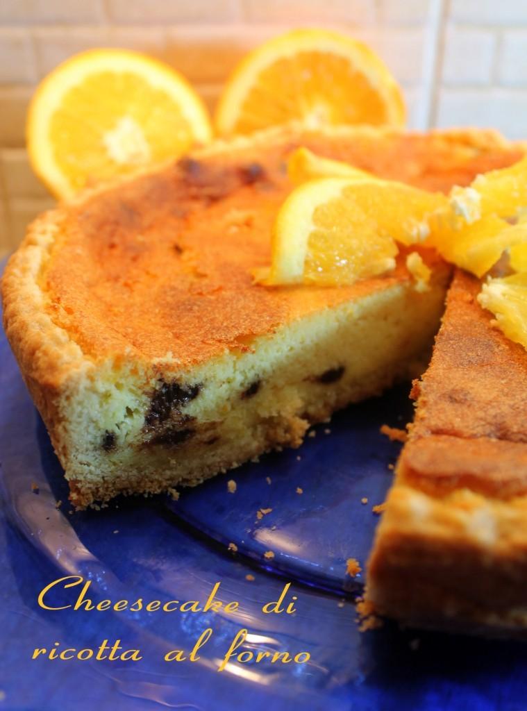 Cheesecake di ricotta