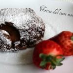 Tortini al cioccolato dal cuore fondente
