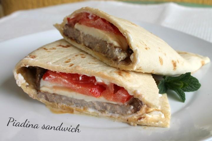 Piadina sandwich 1