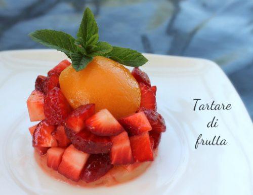 Tartare di frutta