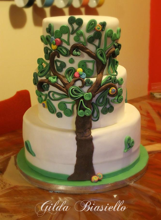 Torta albero della vita