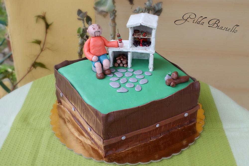 Torta barbecue