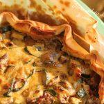 Torta salata con straccetti di manzo e zucchine 2
