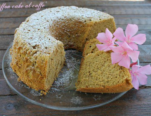 Chiffon cake al caffè
