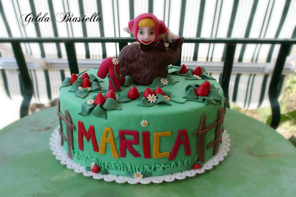 Torta masha e orso donnepasticcione