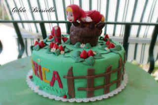 Torta Masha e Orso 4