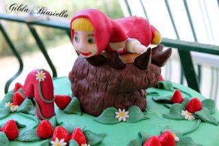 Torta Masha e Orso 5