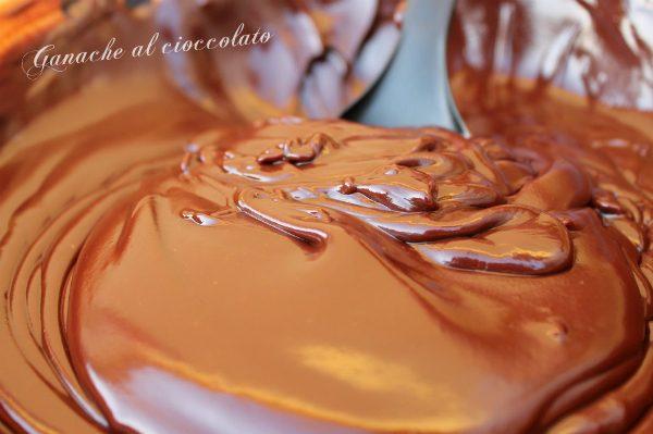 Ganache al cioccolato montata e non
