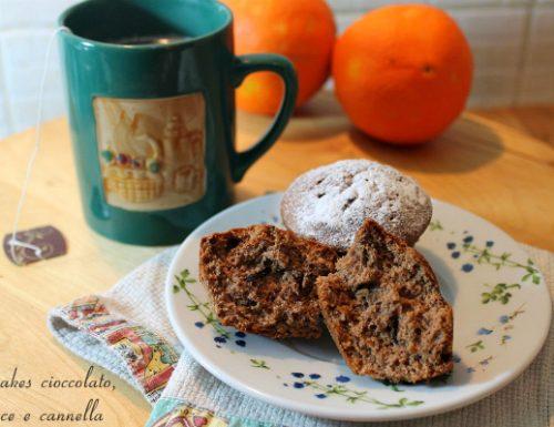 Cupcakes cioccolato, arance e cannella