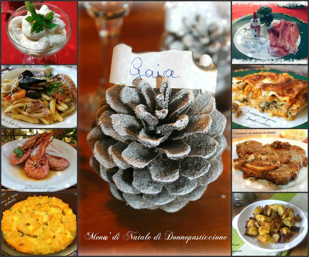 Menu Di Natale Per Due.2 Proposte Per Il Menu Di Natale Donnepasticcione
