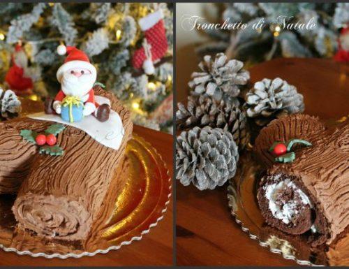 Tronchetto di Natale ricetta facile